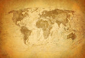 Vintage klassiska karta — Stock fotografie