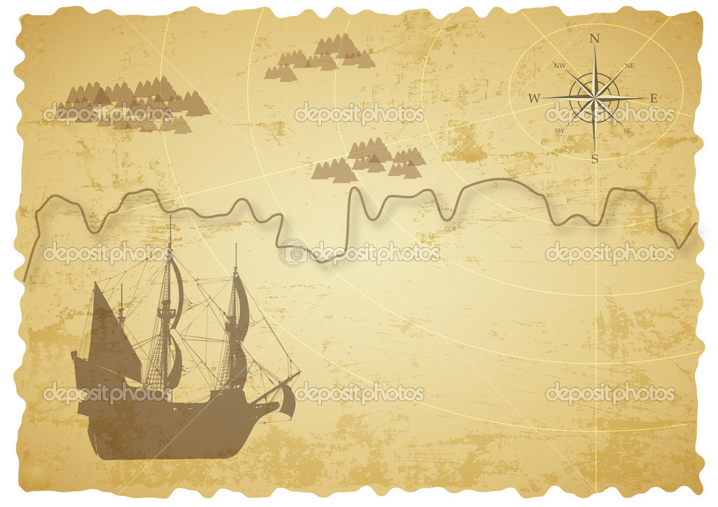 treasure map paper From pirate crafts to scavenger hunts, the treasure map template is a great way to encourage creative thinking, problem solving, and good old-fashioned fun.