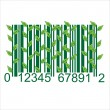 Stock Vector: Ecology BARCODE