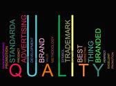 Colorful trade text barcode, vector — Stock Vector