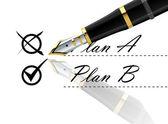 Plan vector — Stock Vector