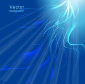 Blue background. Vector illustration — Stock Vector