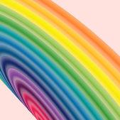 Regenbogen spritzen. vektor-illustration — Stockvektor