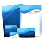 Identity Package  marine life — Stock Vector