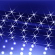 Royalty-Free Stock Vector Image: Blue star light