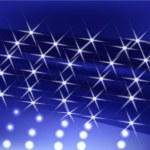 Blue star light — Stock Vector