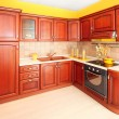 Stock Photo: Wooden kitchen 2