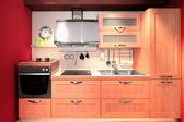 Compact kitchen — Stock Photo