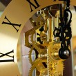Stock Photo: Clock detail