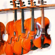 Stock Photo: Four violins 2