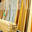Warehouse materials - Stock Photo