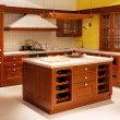 Wooden kitchen — Foto de stock #2779516