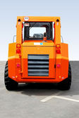 Small digger rear — Stock Photo