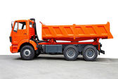 Tipper truck — Stock Photo