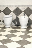 Bidet toilet — Stock Photo