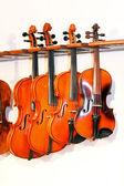 Four violins 2 — Stock Photo