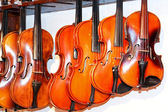 Violin shop 2 — Stock Photo