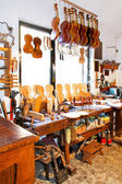 Violin workshop 2 — Foto de Stock