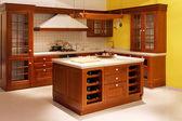 Cocina de madera — Foto de Stock