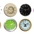 Eighyt clocks — Stock Photo #2893607