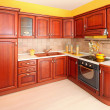 Stock Photo: Wooden kitchen