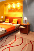 Detalle de dormitorio moderno — Foto de Stock
