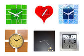 Modern clocks — Stock Photo