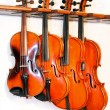 Stock Photo: Four violins