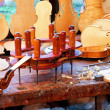 Violin workbench - Stock fotografie