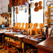 Violin workshop — Stock Photo #2913601