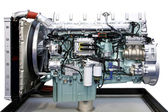 Big engine — Stock Photo