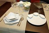 Świąteczny stół — Zdjęcie stockowe