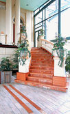 Marble stairway — Stock Photo