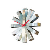 Kovové hodiny — Stock fotografie