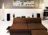 Retro living room — Stock Photo