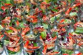 Shrimp cocktails — Stock Photo