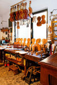 Violine workshop — Stockfoto