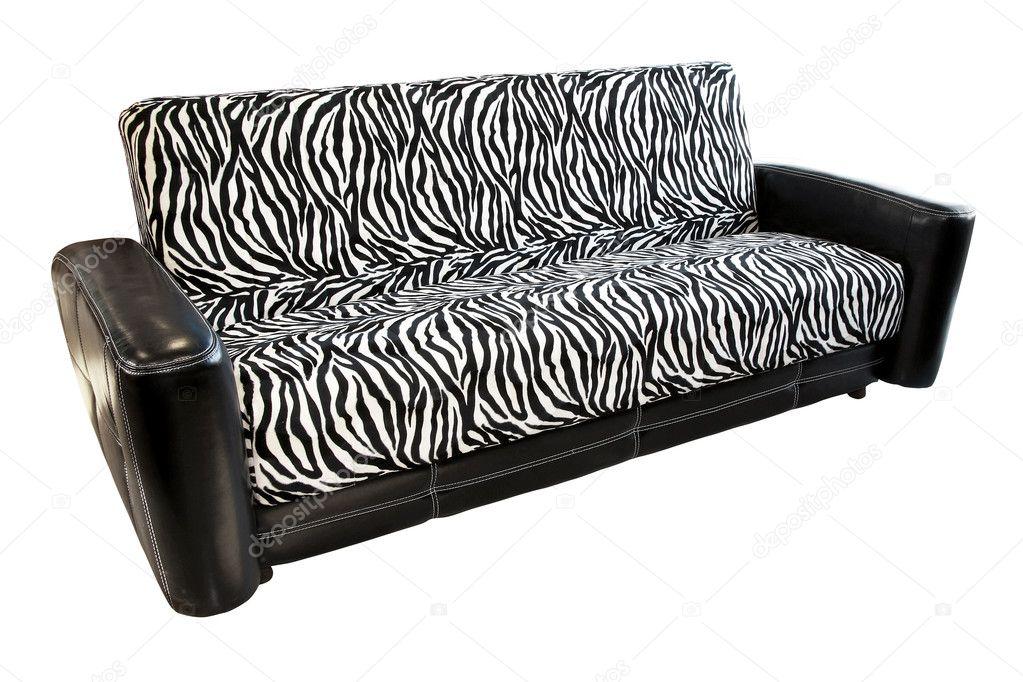 zebra sofa stock photo baloncici 2913811. Black Bedroom Furniture Sets. Home Design Ideas