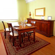 Classic dining room — Stock Photo