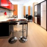 Contemporary kitchen 2 — Stock Photo