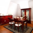 Old dining room — Stock Photo