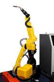 Robotic welder — Stock Photo