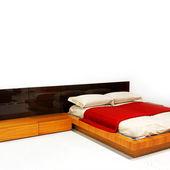 White bedroom — Stock Photo