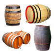 Four barrels — Stock Photo #2964093