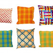 Pillows squares — Stock Photo