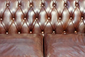 Leather upholster — Stock Photo