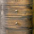 Stock Photo: Dark drawers