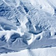 Snow layers — Stock Photo