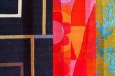Kleur tapijten — Stockfoto