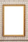 Leaf frame — Fotografia Stock